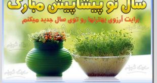 سال نو پیشاپیش مبارک 99 و تبریک پیشاپیش عید نوروز و سال 99