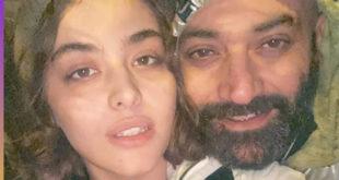 عکس های دو نفره و عاشقانه ریحانه پارسا و همسرش