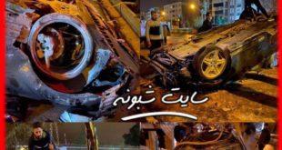 فیلم تصادف دختر و پسر شیرازی در حین لایو اینستاگرام