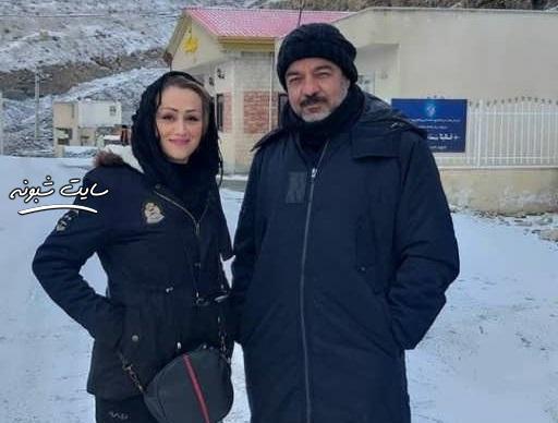 بیوگرافی سعید آقاخانی و همسرش گلرخ حقیقی + دختران سعيد آقاخاني
