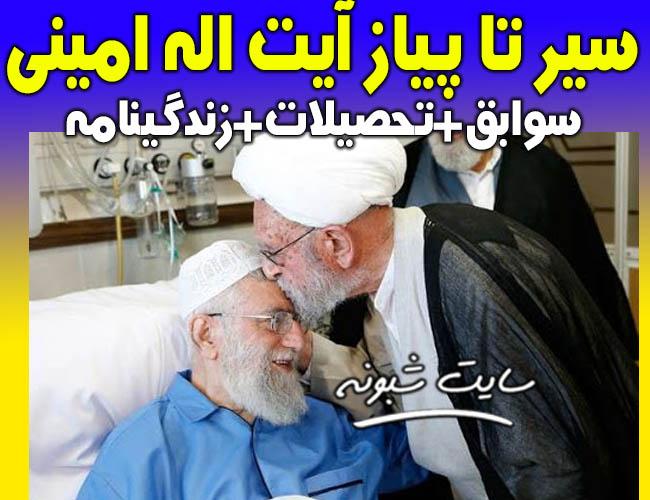 بیوگرافی و درگذشت آیت الله ابراهیم امینی نماینده مردم تهران در مجلس خبرگان