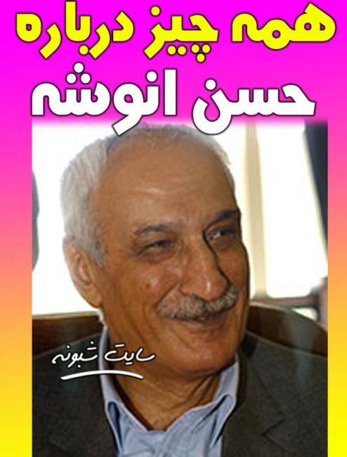 بیوگرافی و درگذشت حسن انوشه نویسنده سرپرست گروه نویسندگان دانشنامه ادب فارسی