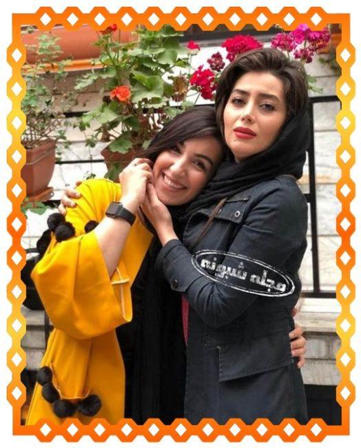 عکسهای جنجالی روژان در سریال ن خ 2 + بیوگرافی هدیه بازوند
