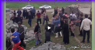فیلم درگیری زمین داران در ماهور شیراز و مرگ امید رستمی فرمانده اراضی استان فارس