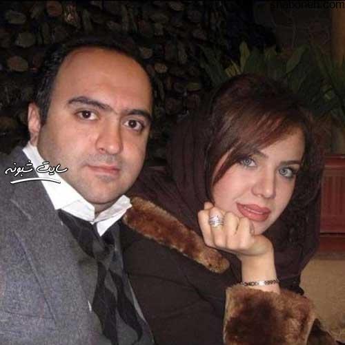 عکسهای حدیث چهره پرداز و همسرش