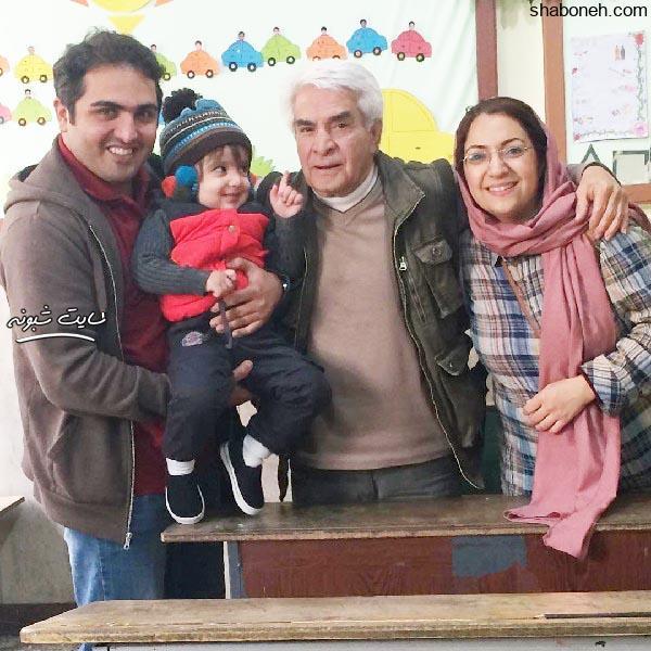 بیوگرافی سعید کریمی و همسرش بنفشه صمدی و یدالله صمدی
