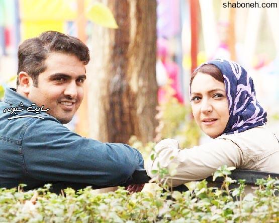 یدالله صمدی و همسر بنفشه صمدی