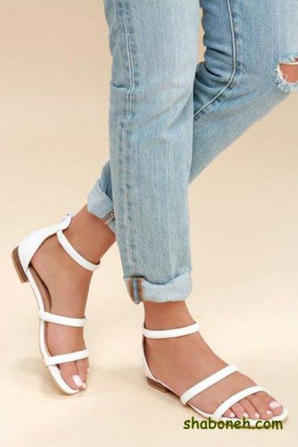 مدل کفش های صندل زنانه