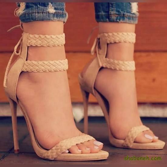 کفشهای مجلسی دخترانه شیک