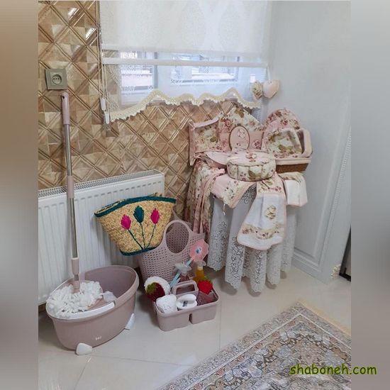 عکس جهیزیه عروس ساده