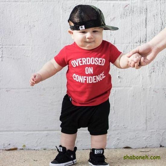 مدل شیک لباس پسر بچه
