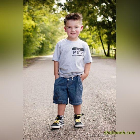 عکس لباس اسپرت پسرانه بچه گانه
