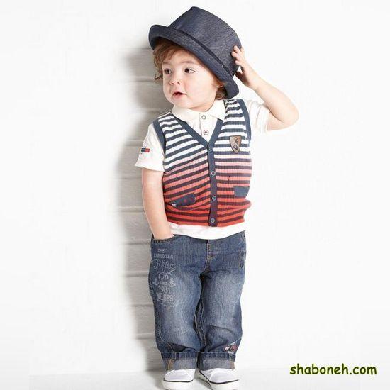 لباس بچه گانه پسرانه جذاب و جدید