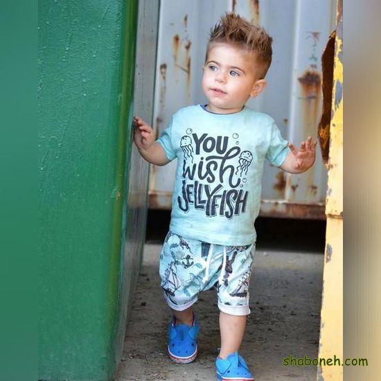 جدیدترین مدل لباس بافت پسرانه بچه گانه