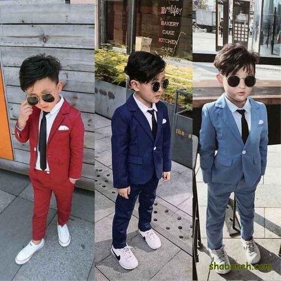 انواع مدل لباس پسرانه بچه گانه