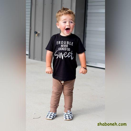 انواع لباس اسپرت پسرانه بچه گانه