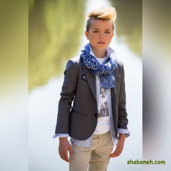 انواع مدل لباس بچه گانه پسر