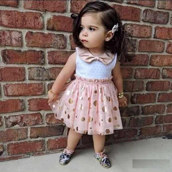 عکس لباس بچه گانه دخترانه تابستانی