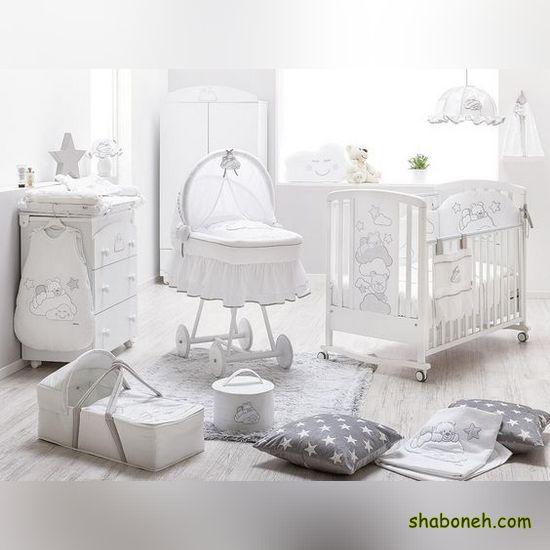 زیباترین مدل سرویس خواب نوزاد