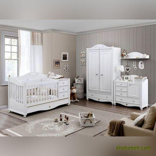 تصاویری از سرویس خواب نوزاد