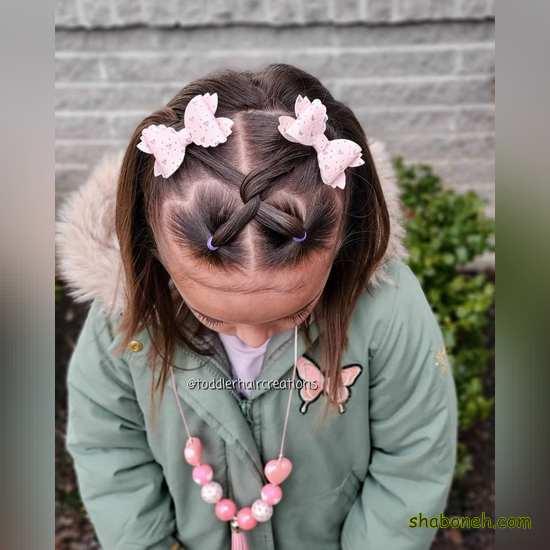 انواع بافت موی بچه گانه