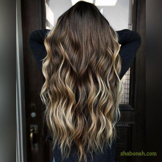 رنگ موهای جدید زنانه