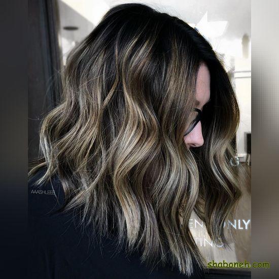 رنگ مو جدید زنانه