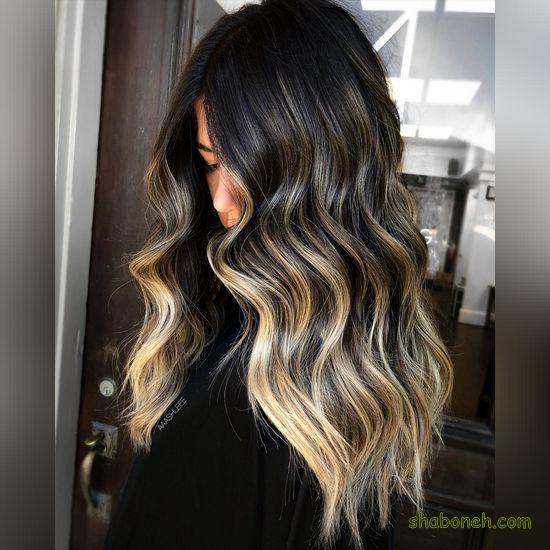 رنگ موهای جدید و زیبا
