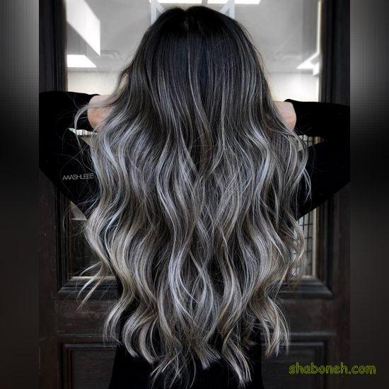 رنگ موهای جدید و شیک