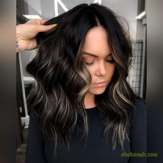 رنگ موی جدید زنانه