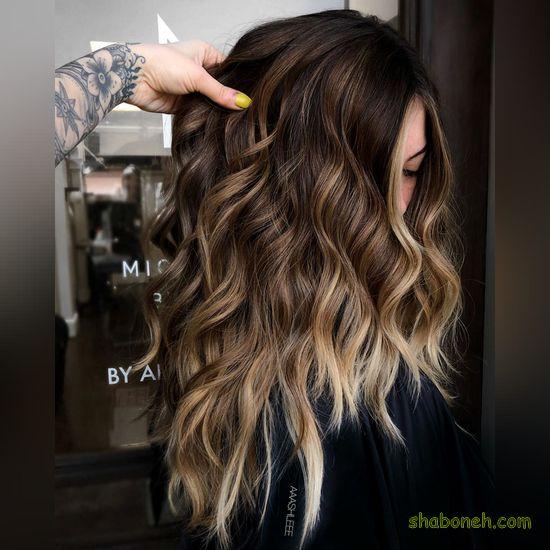رنگ موی جدید زنانه 99
