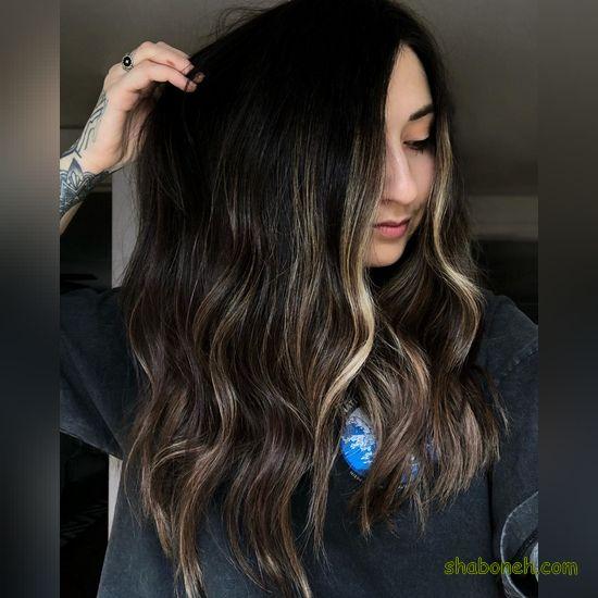 رنگ مو دخترانه سال ۹۹