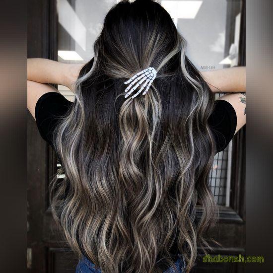 رنگ مو دخترانه هایلایت