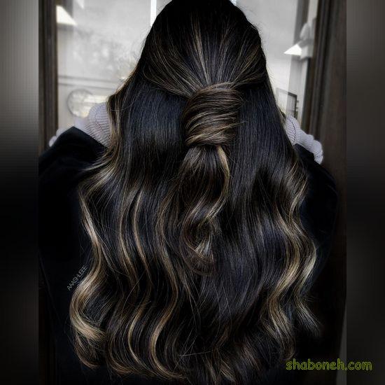 رنگ مو جدید سال