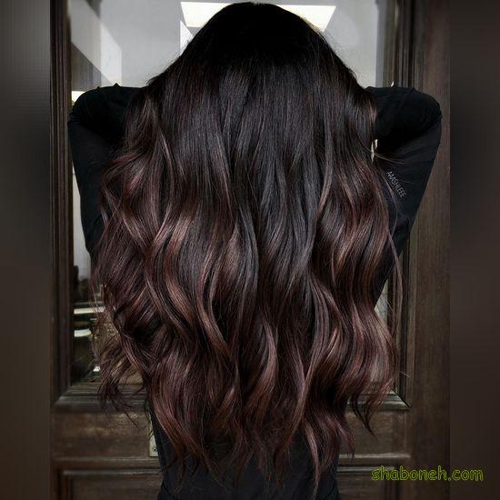 عکس رنگ موهای جدید