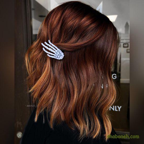 رنگ مو دخترانه 2020