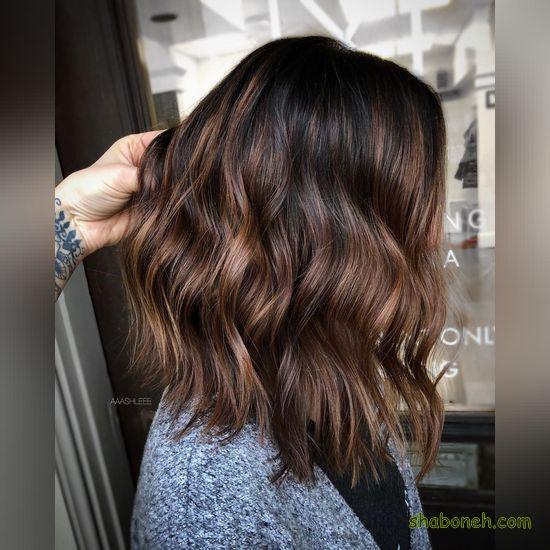رنگ موی جدید دخترانه شیک