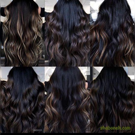 عکس رنگ موهای خوشگل