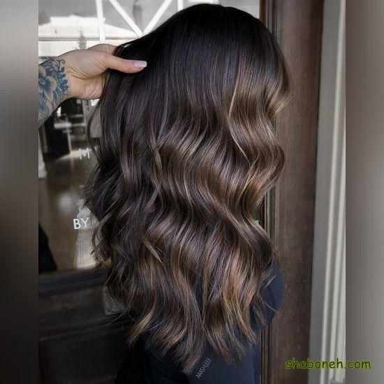 عکس رنگ موهای دخترانه