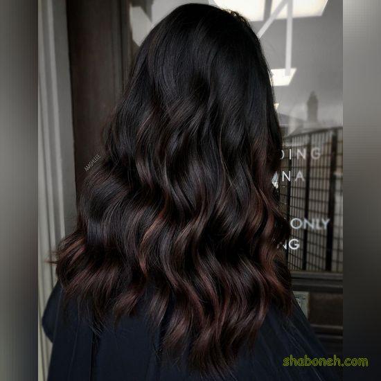 عکس رنگ موی زنانه شیک