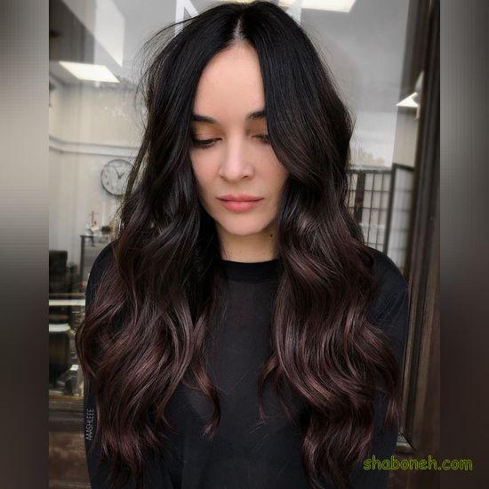 عکس رنگ موی زنانه جدید