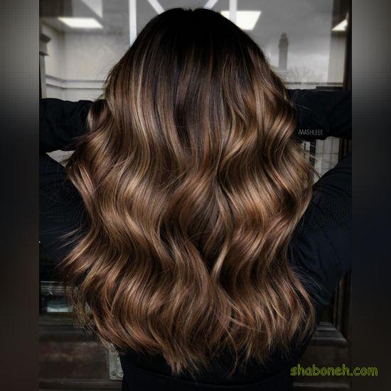 رنگ موی زنانه