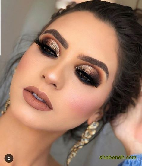 مدل سایه چشم عربی عروس