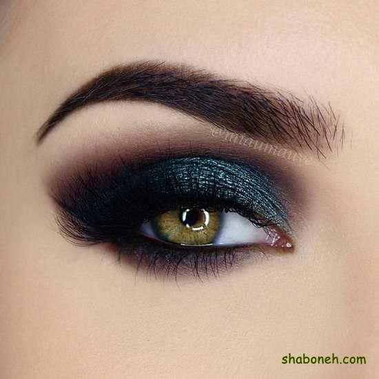 جدیدترین مدل آرایش چشم لایت عروس