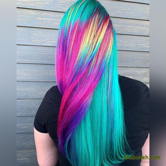 رنگ موهای جدید و زیبا فانتـزی