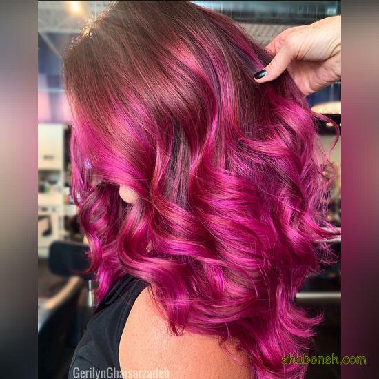 رنگ مو فانتزی 99