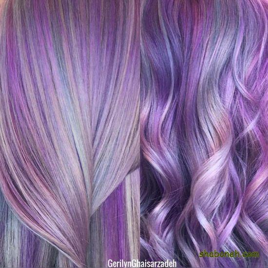 رنگ موهای جدید ۲۰۲۰ فانتـزی