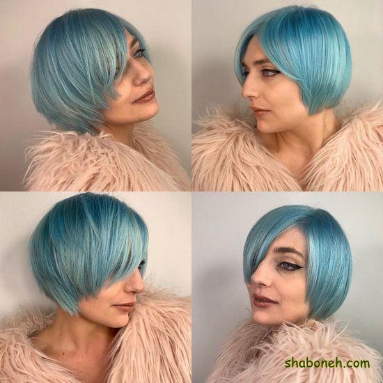 رنگ موهای جدید دخترانه فانتـزی
