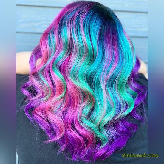 رنگ موهای جدید سال ۲۰۲۰ فانتـزی