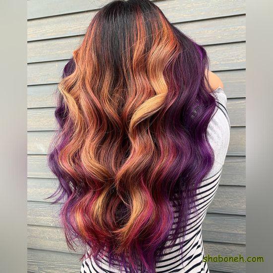 مدل رنگ مو زنانه ۲۰۲۰ فانتـزی